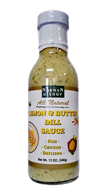 Norman Bishop Lemon & Butter Dill Sauce Case of 12